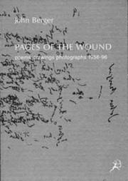 Cover of: Pages of the wound: poems, drawings, photographs, 1956-96