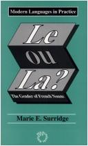 Cover of: Le ou la? | Marie Surridge