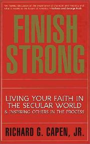 Cover of: Finish strong