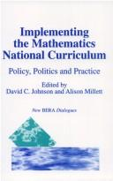 Cover of: Implementing the Mathematics National Curriculum |