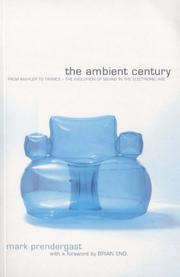 Cover of: Ambient Century | Mark Prendergast