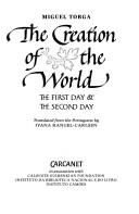 Cover of: The creation of the world: the first day & the second day