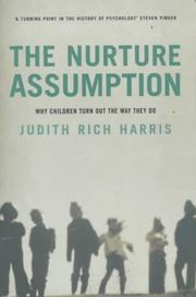 Cover of: Nurture Assumption by Judith Rich Harris