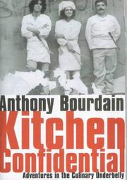 Etonnant Cover Of: Kitchen Confidential | Anthony Bourdain