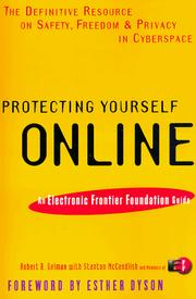 Cover of: Protecting Yourself Online | Eff