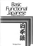 Cover of: Basic functional Japanese