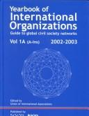 Cover of: Yearbook of International Organizations 2002/2003 | Gale Group