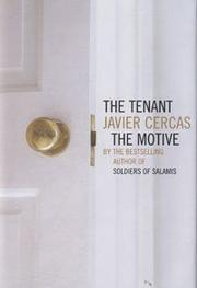 Cover of: The Tenant and The Motive