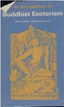 Cover of: Introduction to Buddhist Esoterism