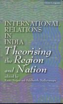 Cover of: International relations in India |