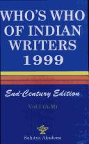 Cover of: Who's Who of Indian Writers |