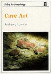 Cover of: Cave art | Andrew J. Lawson