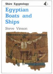 Cover of: Egyptian boats and ships