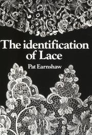 Cover of: The identification of lace
