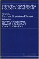 Cover of: Disorders, Diagnosis and Therapy | N. Kretchmer