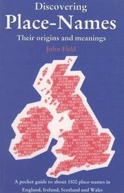 Cover of: Discovering Place-Names