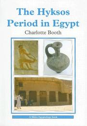 Cover of: The Hyksos Period in Egypt (Shire Egyptology)