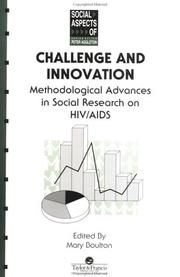 Cover of: Challenge and Innovation | Mary Boulton