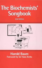 Biochemists' Songbook by Harold Baum