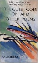 Cover of: The quest goes on and other poems