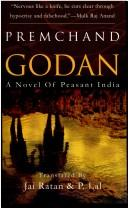 Cover of: Godan; A Novel of Peasant India