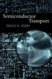 Cover of: Semiconductor Transport