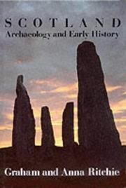 Scotland, archaeology and early history by J. N. G. Ritchie