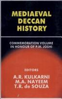 Cover of: Mediaeval Deccan history