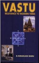 Cover of: Vastu, relevance to modern times