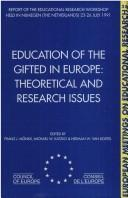Cover of: EDUCATION GIFTED IN EUROPE (European Meetings on Educational Research, Part a : Vol 28) | Monks