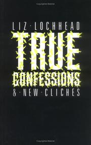 Cover of: True Confessions . . . (Poetry)