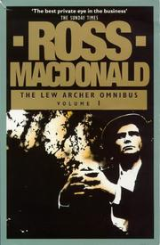 Cover of: The Lew Archer Omnibus