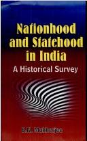 Cover of: Nationhood and statehood in India
