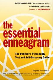 Cover of: The Essential Enneagram | David N. Daniels