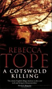 Cover of: A Cotswold Killing | Rebecca Tope