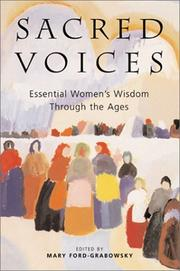 Cover of: Sacred Voices | Mary Ford-grabowsky