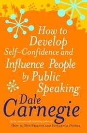 Cover of: How to Develop Self-confidence (Personal Development)