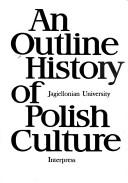Cover of: An Outline history of Polish culture
