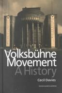 Cover of: The Volksbühne movement
