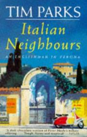 Cover of: Italian Neighbours |