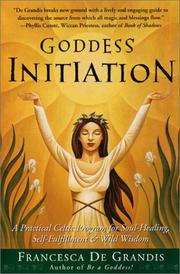 Cover of: Goddess Initiation | Francesca De Grandis