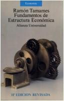 Cover of: Fundamentos de estructura económica