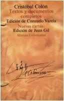 Cover of: Textos y documentos completos: relaciones de viajes, cartas y memoriales