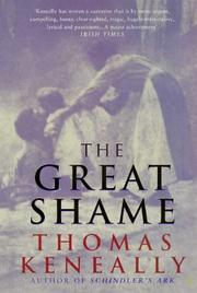 Cover of: THE GREAT SHAME
