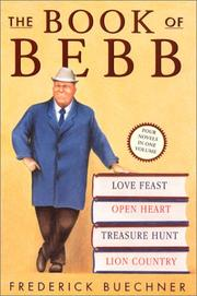 Cover of: The book of Bebb