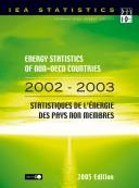 Cover of: Energy Statistics of Non-OECD Countries |