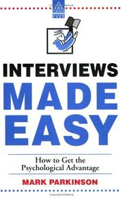 Cover of: Interviews Made Easy