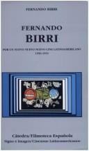 Cover of: Fernando Birri