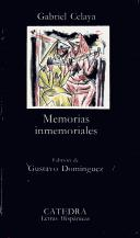 Cover of: Memorias Inmemoriales