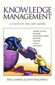 Cover of: Knowledge Management | Paul R Gamble